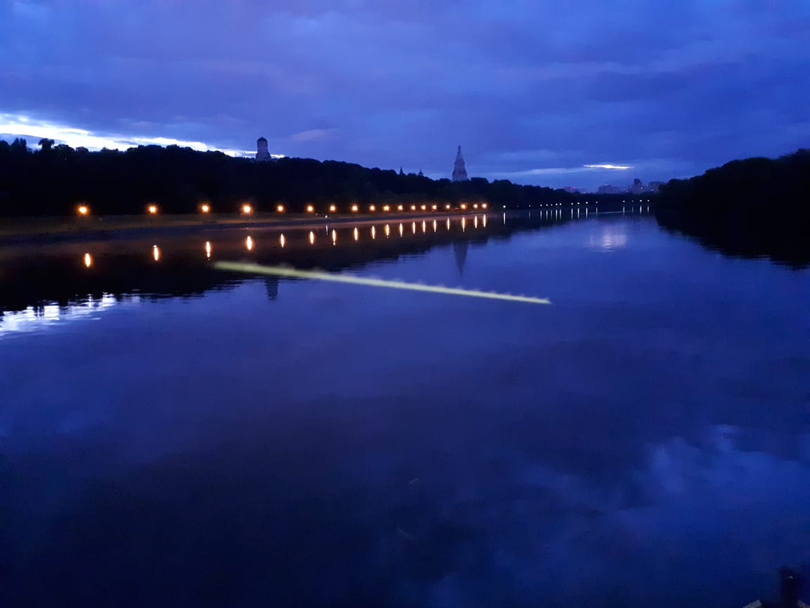 Речная прогулка по югу Москвы в Коломенском