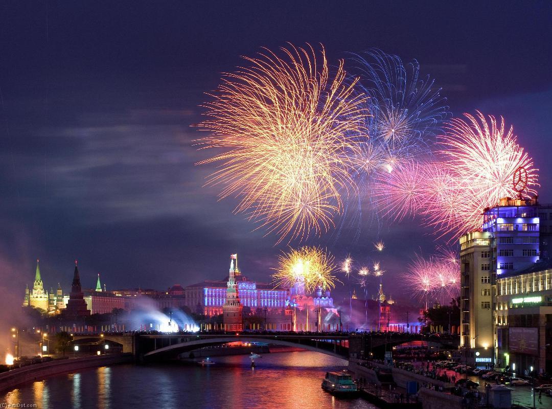 Речная прогулка по Москве реке с просмотром салюта в День России