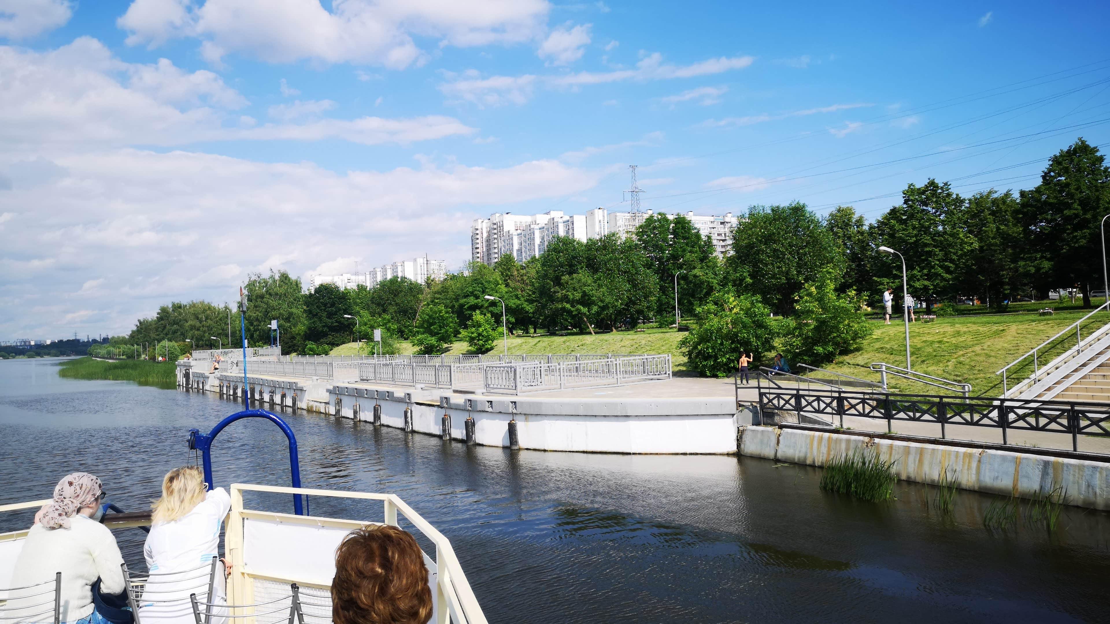 Прогулка Южный полюс Москвы из Братеево