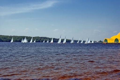 Прогулка по Клязьминскому водохранилищу