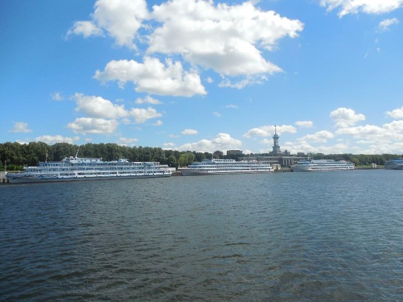 Речной трамвайчик (прогулка по Москва-реке)