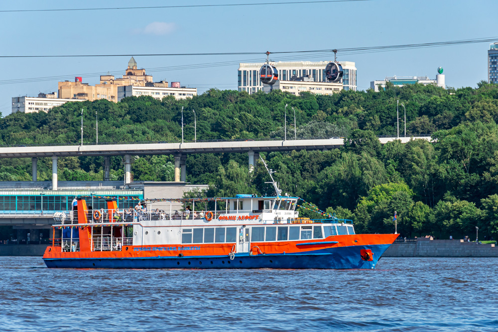 Речной круиз по Центру Москвы от Большого Устьинского моста до причала