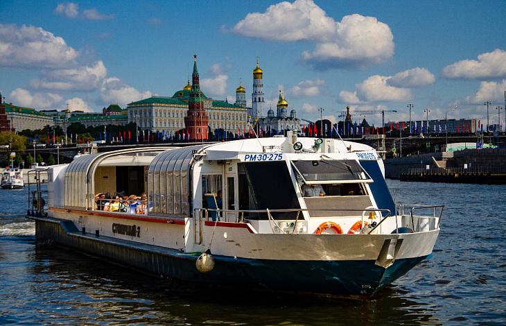 «River tour» от Москва-Сити до парка Зарядье