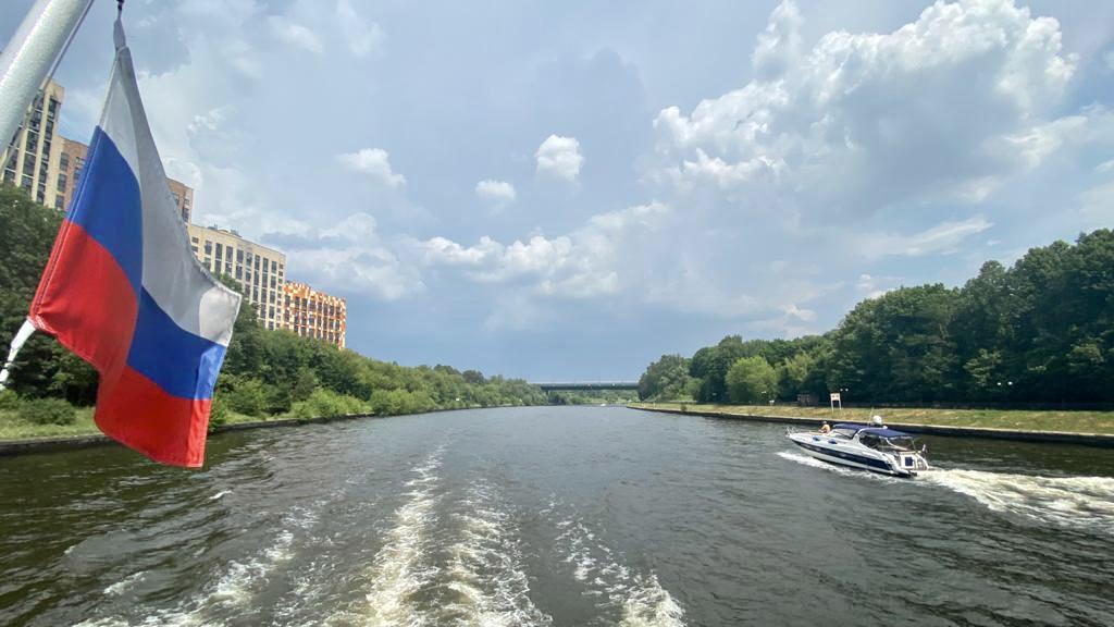 Круиз по Клязьминскому водохранилищу